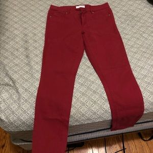 Red Loft Jeans